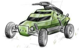 Fast Attack Concept Vehicle